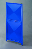 Variables Eckelement für Trennwand-System Universelle Stahlblech