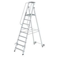 Aluminium-Stehleiter einseitig begehbar 9