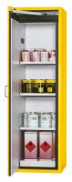 Feuerbeständige Sicherheitsschrank Typ 90 gem. DIN EN 14470-1 1196 / Lichtgrau RAL 7035