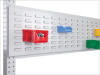 Werkzeug-Schlitzplatten für Stahl-Aufbauportale 1000 / Lichtgrau RAL 7035