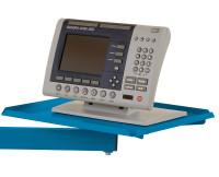 Ablageboards Brillantblau RAL 5007 / 370