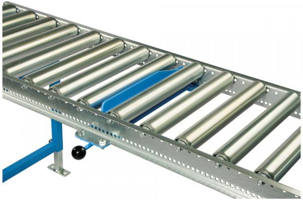 Handsperre für Leicht-Stahlrollenbahnen