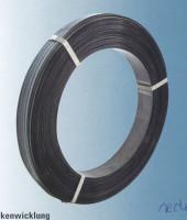 Mehrlagiges Stahlband, gebläut