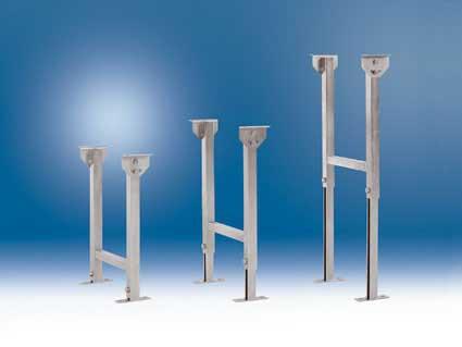 Doppelgelenk-Rahmenständer, für Bahnbreite 440 mm