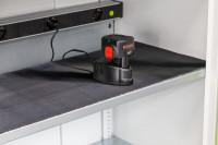Gummiriefenmatte für Elektro-Einlegeboden