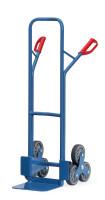 Stahlrohr-Treppenkarren Vollgummi / 480 x 300