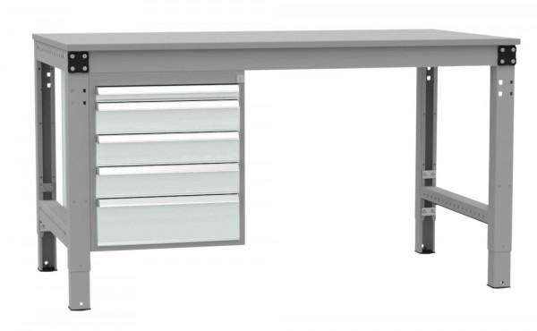 Schubfach-Unterbauten MULTIPLAN, stationär, 1x50, 3x100, 1x150 mm