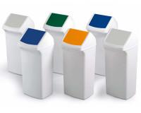 Abfall- und Wertstoffbehälter 40 Liter Gelb