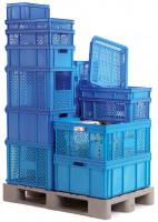 Etikettenhalter für Lager- und Transportbehälter