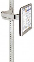 Monitorträger Lichtgrau RAL 7035 / 75