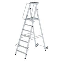 Aluminium-Stehleiter einseitig begehbar 7