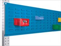 Werkzeug-Schlitzplatten für Stahl-Aufbauportale Lichtblau RAL 5012 / 1750