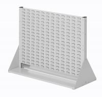 Stellwand mit Sichtlagerkästen, Doppelseitige Nutzung, Höhe 760 mm zur Selbstbestückung