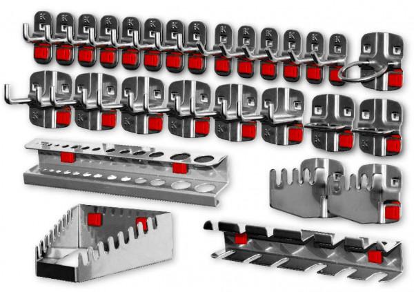 RasterPlan/ABAX Werkzeughalter-Sortiment, 28-teilig