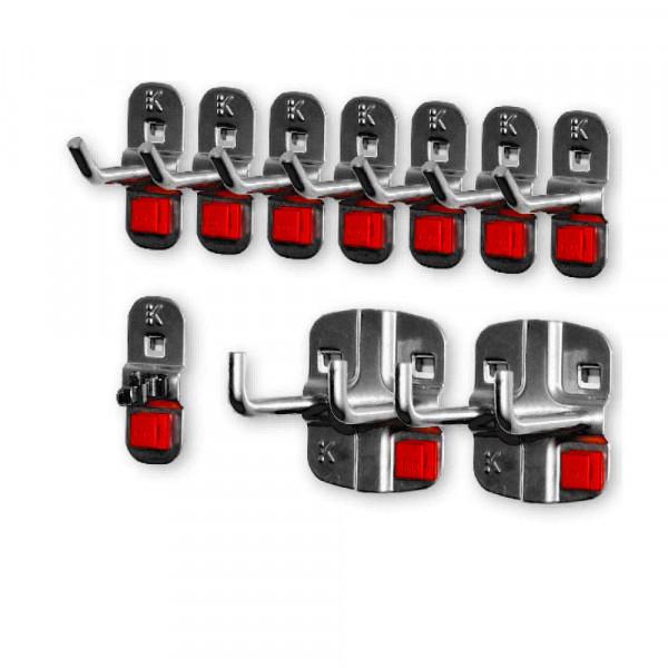 RasterPlan/ABAX Werkzeughalter-Sortiment, 10-teilig
