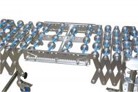 Verbindungsstück für Scheren-Röllchenbahnen, Stahl 300