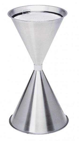 Spezial-Quarzsilbersand für Standascher mit Siebeinsatz