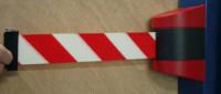 Wandkonsole Rot / Rot/Weiß
