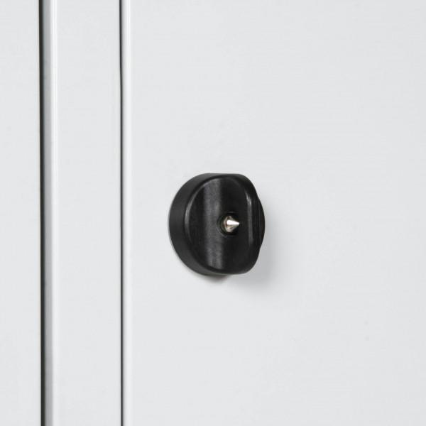 Sicherheitsdrehriegel für Universal-Garderobenschrank