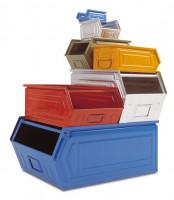 Staubdeckel für Sichtlagerkästen aus Stahlblech LxBxH: 350 x 200 x 200