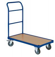 Plattformwagen mit 1 Schiebebügel mit Bordkante / 850 x 500