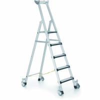Fahrbare Stufen-Stehleitern 6 / 2,13