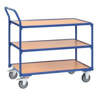 Tischwagen mit 3 Ladeflächen 500 / 850