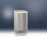 Leergehäuse BASETEC 800 / Lichtgrau RAL 7035