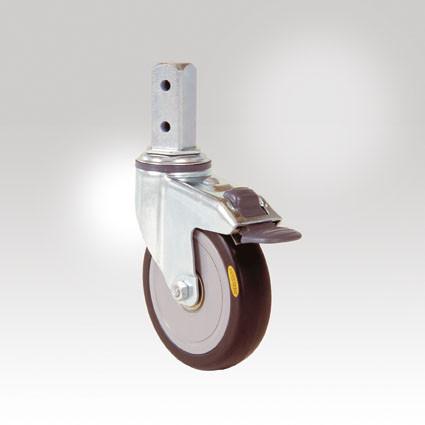 4 Lenkrollen leitfähig für ESD-Etagenwagen Varimobil