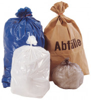 Abfallsäcke, LDPE mit 80 Liter Volumen