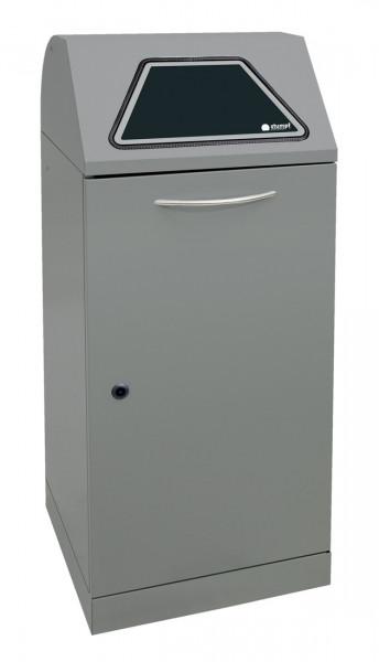 System-Sammelbehälter mit Einwurfklappe