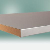 Werkbankplatte Blechbelag verzinkt 40 mm