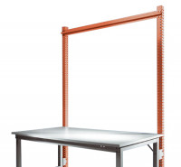Stahl-Aufbauportale ohne Ausleger, mit Querstabilisierungsstrebe Anbaueinheit Standard Rotorange RAL 2001 / 1000