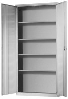 Ordnungsschrank, HxBxT: 1950 x 950 x 400 mm 4 Fachböden, zur Selbstbestückung