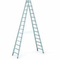 Sprossen-Stehleitern 2x14 / 4,02