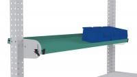 Neigbare Ablagekonsole für MULTIPLAN Arbeitstische Graugrün HF 0001 / 1250 / 495
