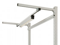 Langfeldleuchten mit Mikroprismenscheibe 40 W LED / 1150