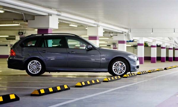 Parkplatzbegrenzung