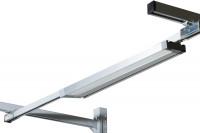 LED Einstiegs-Langfeldleuchte mit Prismenblende 15 W LED / 449