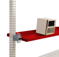 Neigbare Ablagekonsole für PACKPOOL 2000 / 195 / Rubinrot RAL 3003