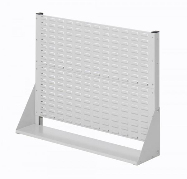 Stellwand mit Sichtlagerkästen, Einseitige Nutzung, Höhe 760 mm