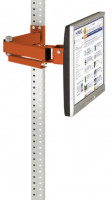 Monitorträger leitfähig 75 / Rotorange RAL 2001