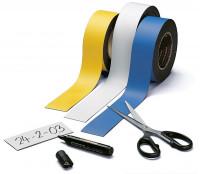 Farbige Magnetbänder 50 / Weiß