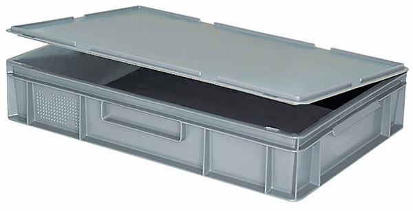 Scharnierdeckel für Euronorm-Transport-Stapelbehälter