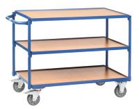 Tischwagen mit 3 Ladeflächen 600 / 1000