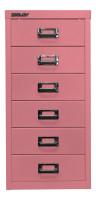 Schubladenschrank mit 6 Schubladen für DIN A4 ohne Sockel / Blau