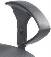 Höhenverstellbare Armlehnen für Bandscheibenstuhl Basis, in schwarz