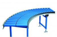 Kurven für Leicht-Kunststoffrollenbahnen, Bahnbreite 200 mm 62.5 / 45°