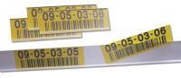 Selbstklebende Tickethalter 100 / 25