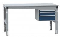 Komplettarbeitstische MULTIPLAN Standard Modell 4 Lichtgrau RAL 7035